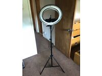 Beauty ring light for makeup and photography