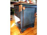 Vintage upcycled kitchen island/unit/storage