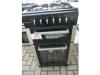 Frigidaire Gas Cooker - 50 cm - Brand NEW! Black & Silver - Immaculate