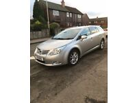 Toyota avensis ,full services history , sat nav , very good condition