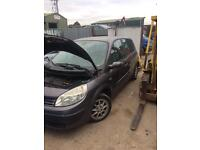 2005 renault Scenic 1.5 dci breaking for spares