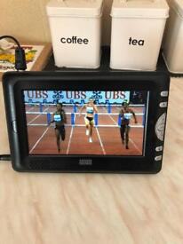 Mini portable tv