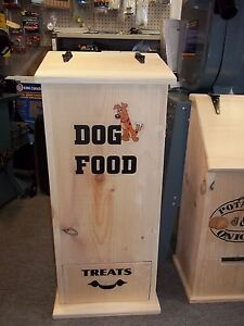 DOG FOOD BIN CONTAINER