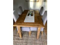 4 x New Next Sienna Dining Chairs