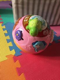 Vtech learn & crawl ball