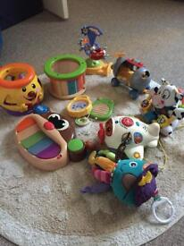 Bundle of mixed toys