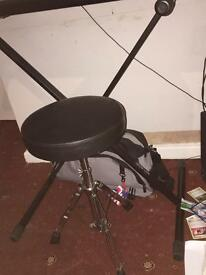 Keyboard with stool and stand £30 all offers considered