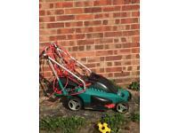 Bosch lawnmower (needs replaced belt)