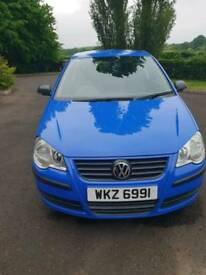 Vw polo 2009 1.2 3 cylinder long mot 2 owners form new low 62k