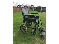 Wheelchair. Good Condition. Fold Up
