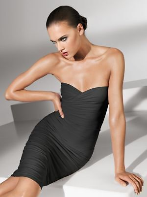 Wolford Fatal Dress - L - antrazithe  ... Schlauchkleid als Verwandlungskünstler