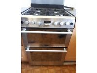 Freestanding Gas Double Oven & Grill with Automatic Programmer