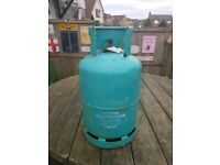 Too Butane gas bottles one 15k & one 13k both are full ideal for gas fires cookers or barbecues