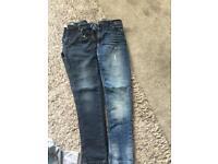 Boys 9-10 yrs skinny jeans £5 each
