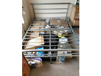 FREE double metal bed frame