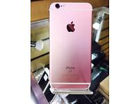 iPHONE 6S 16GB/SHOP RECEIPT/TRUSTED SHOP/UNLOCKED/NEW CONDITION/ROSE GOLD/GRADE A