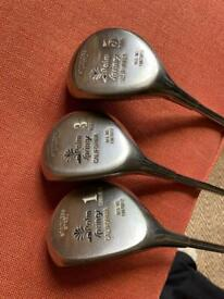 Left handed Palm Springs golf clubs