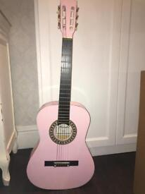 Pink guitar/NEED GONE ASAP AS MOVING PROPETY