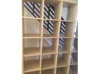 Large book shelf cream color