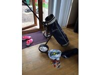For Sale Full set of Howson golf clubs with trolley