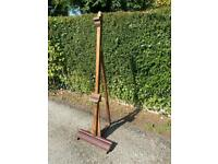 Antique Victorian Painting Easel