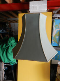 GREEN HEXAGONAL STANDARD LAMPSHADE