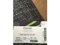 2 Stereophonics tickets 3rd March Wembley