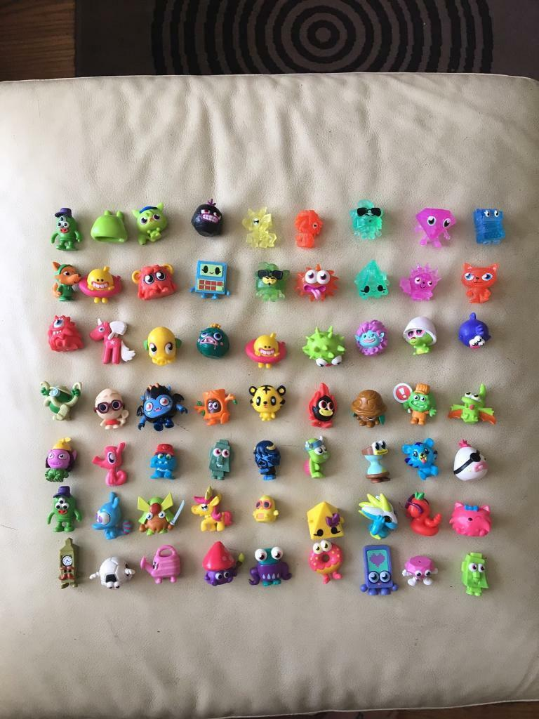 Moshi monster toys. Excellent condition