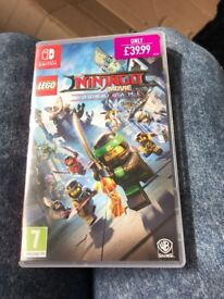 Nintendo switch Lego Ninjago movie game