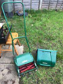 Qualcast manual lawnmower