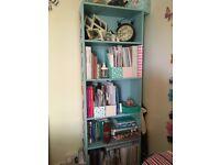 Blue Ikea Billy Bookshelf