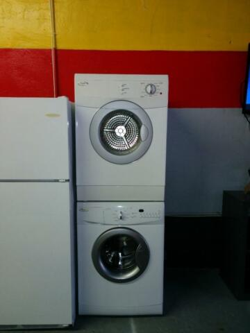 washer dryer stackable apartment size full size on