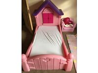 Little Tikes Princess Toddler Bed