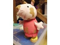 Peppa pig jumping toy