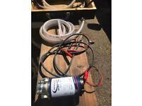 Boat or vehicle sump pump