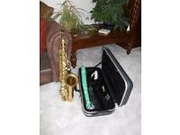 Saxophone - Earlham Professional series 2 brass Alto Saxophone. Excellent condition. Great sound