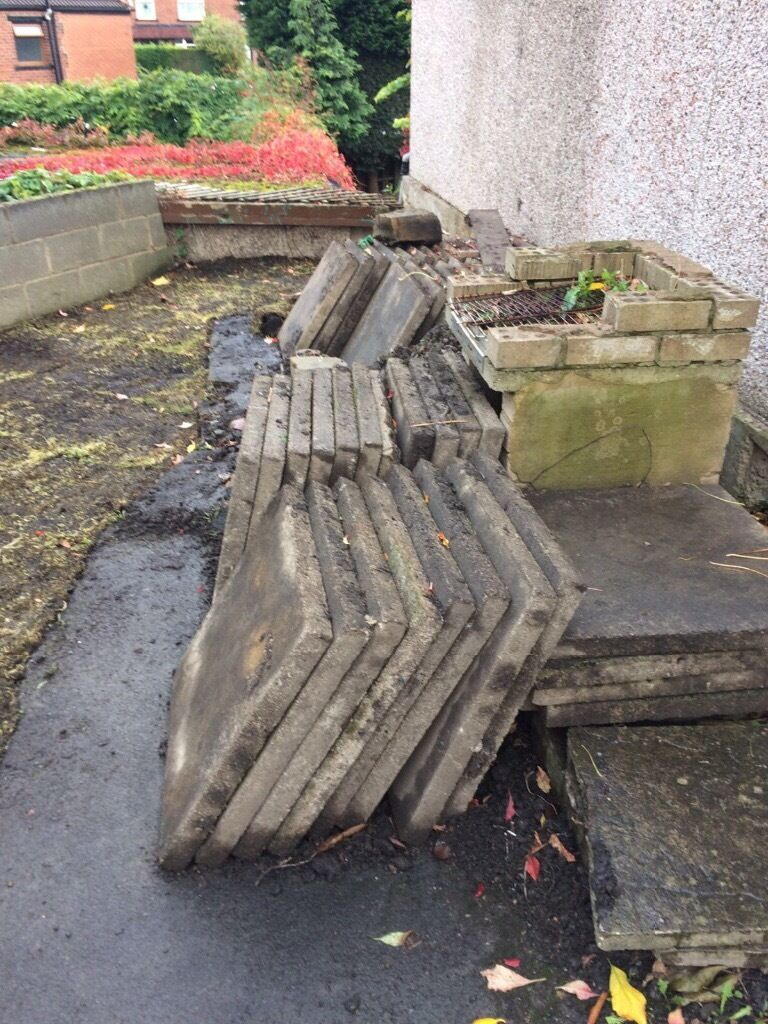 PAVING SLABS LARGE