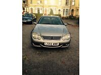 Mercedes c200diesel coupe automatic!! 55plate. £1700
