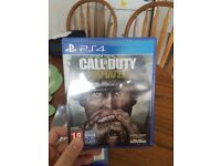 Ps4 game ww2 call of duty world war 2