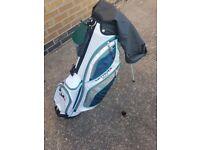 Letter golf carry bag