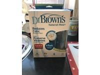 Brand new in box dr brown bottles