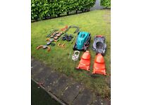 Flymo Bosch Lawnmower Lawnrake Scarifier Bosch Rotak Spare Parts 32 34R Job Lot