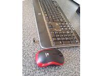 Brand new ! Logitech Keyboard K520 and Logitech wireless mouse M185