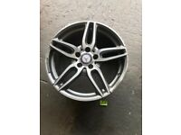 Mercedes Benz 18 inch AMG alloys 1 of 4