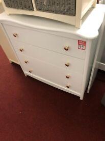 4 drawer chest - gold handles