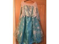 Disney Store Elsa Dress age 5-6yrs