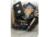 JOB LOT APPROX 3000 RECORDABLE VHS TAPES