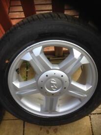 Alloys tyres