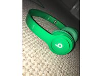 Beats by Dre Solo Hd Monochromatic Green