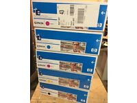 Original, sealed Q3960A (122A) black hp toner cartridge + other colours available